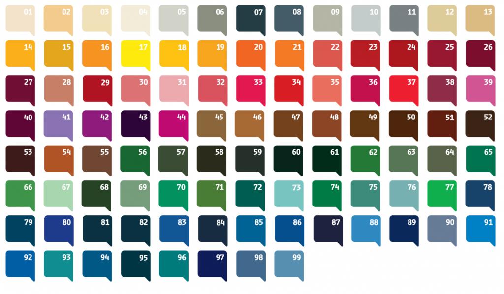 biro Colours